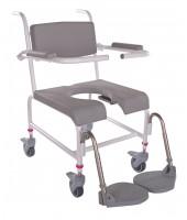 M2 Bade/toiletstol armlæn ud til siden, inkl. PU skum på armlæn